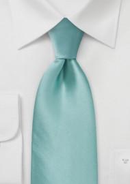Kids Tie in Mint Green