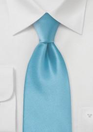 Bright Malibu-Blue Kids Tie