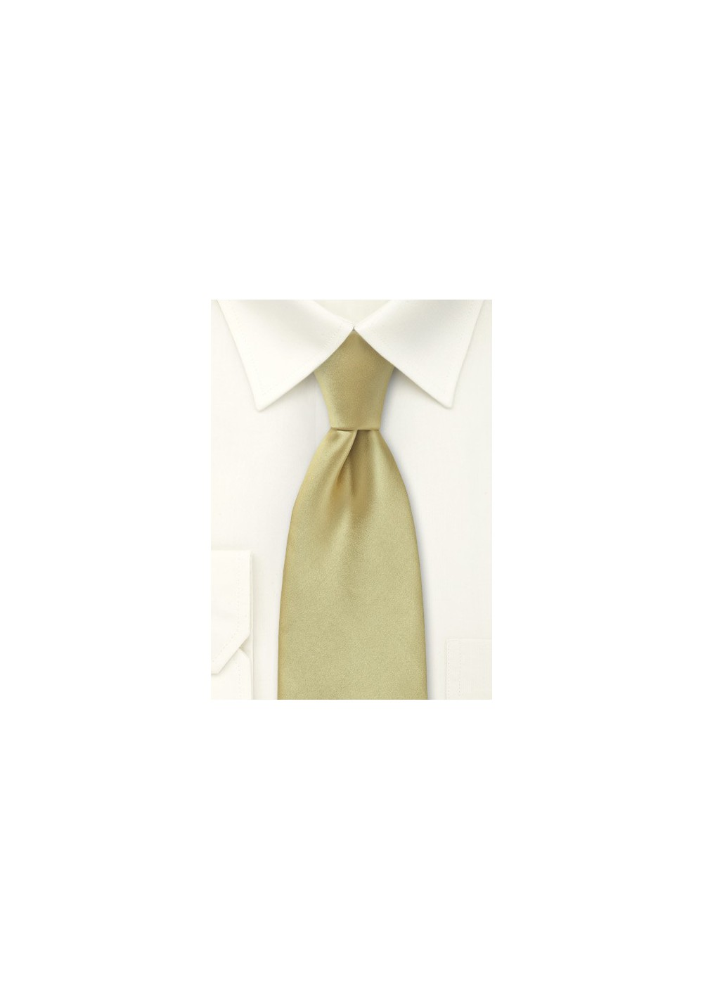 Formal Golden Tan Tie