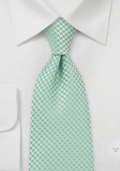 Handwoven Designer Tie in Clover Green