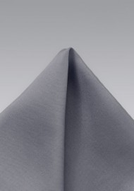 Solid Silver Pocket Square