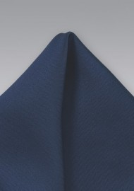 Dark Navy Pocket Square