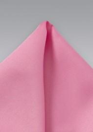 Bright Pink Pocket Square