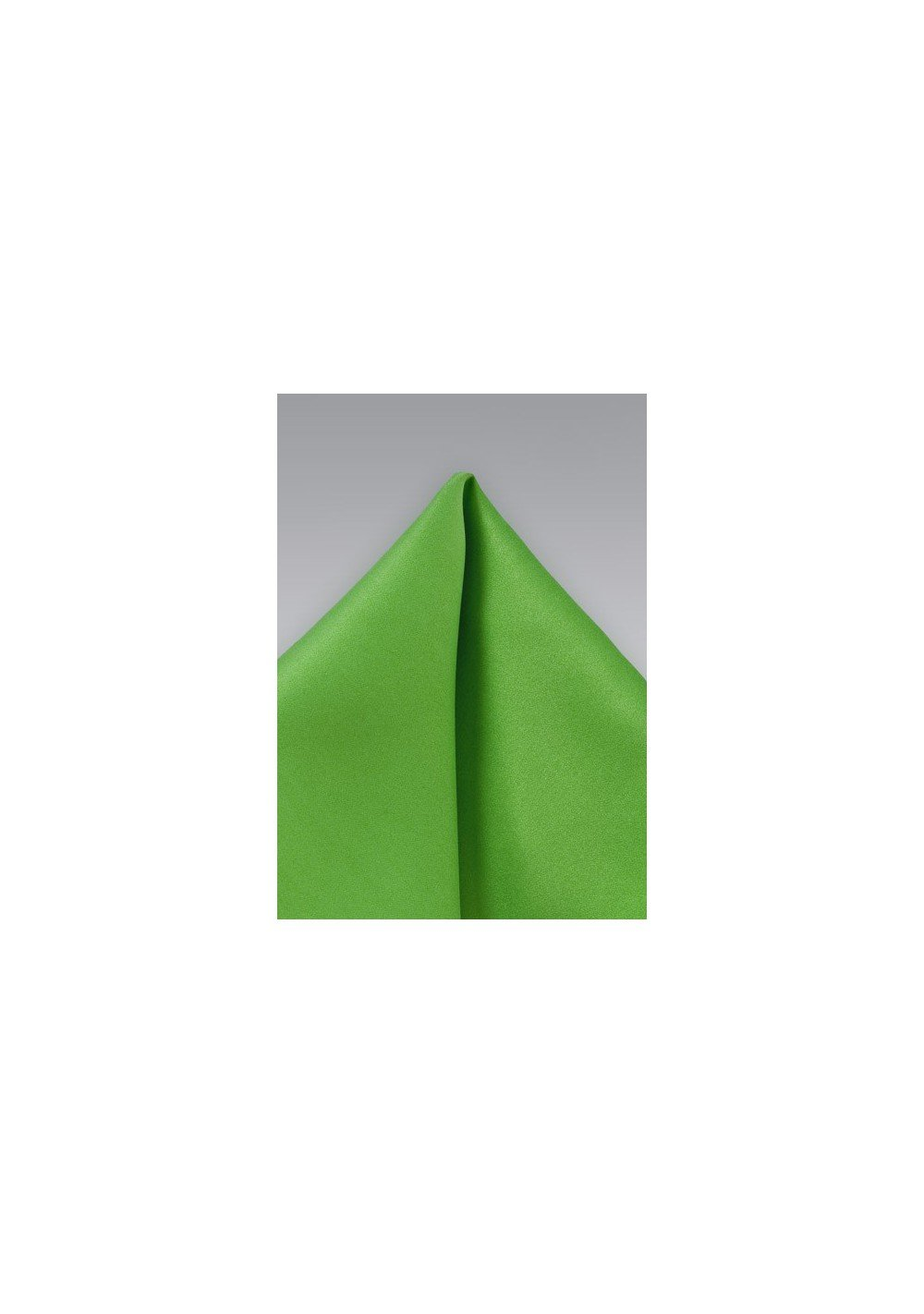 Pocket Square in Kelly Green