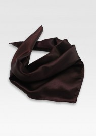 Solid Brown Woman's Scarf