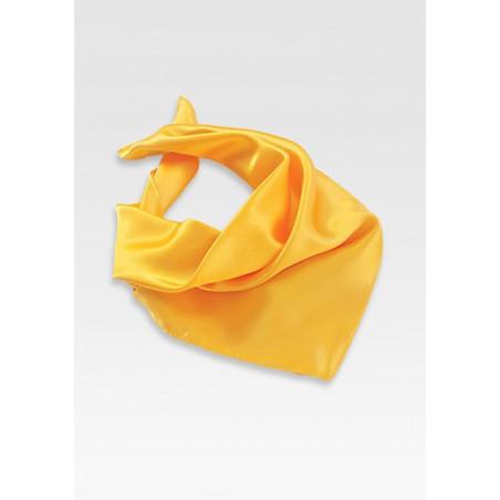 Bright Yellow Womens Scarf