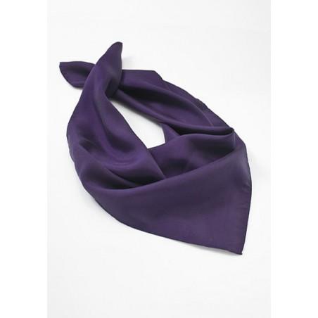Solid Purple Womens Scarf