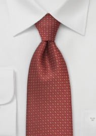 Chestnut Brown Designer Tie