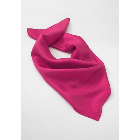 Solid Magenta Pink Scarf