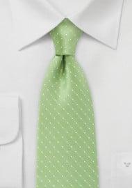 Kids Tie in Light Green