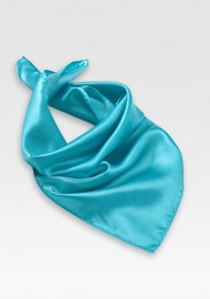 Bright Aqua Blue Womens Scarf
