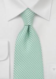 Kids Designer Neck Tie in Clover Green