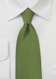 Rich Cypress Green Necktie