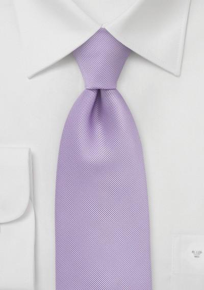Kids Length Tie in Vintage Lilac