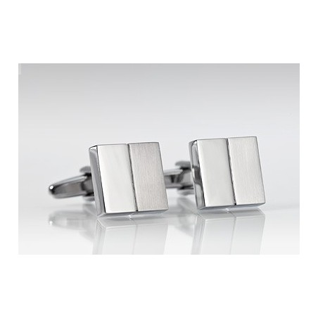 Two Squared Cufflinks