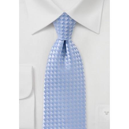 Tonal Blue Tie in Fair Weather Blue