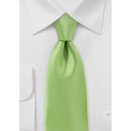 Lime Green Necktie