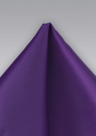 Proper Purple Pocket Square