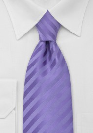 Solid Lavender-Purple Kids Tie