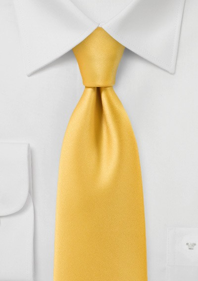 Daffodil Yellow Necktie