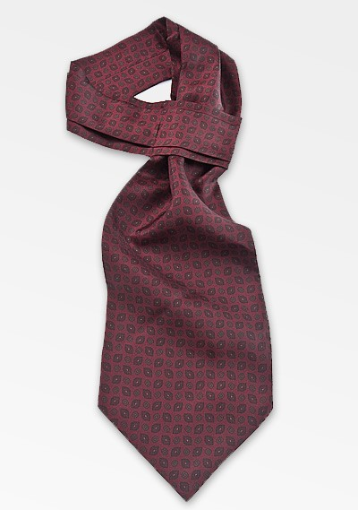 Classically Cool Ascot in Burgundy