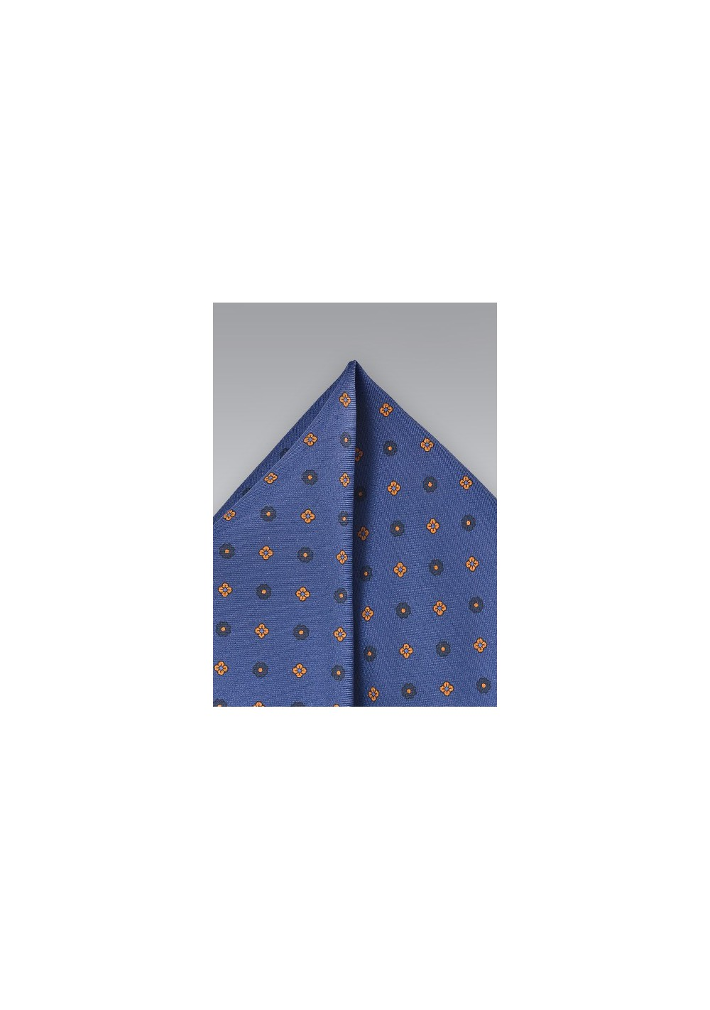 Classic Dark Blue Pocket Square