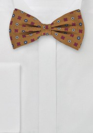 Geometric Bow Tie in Copper