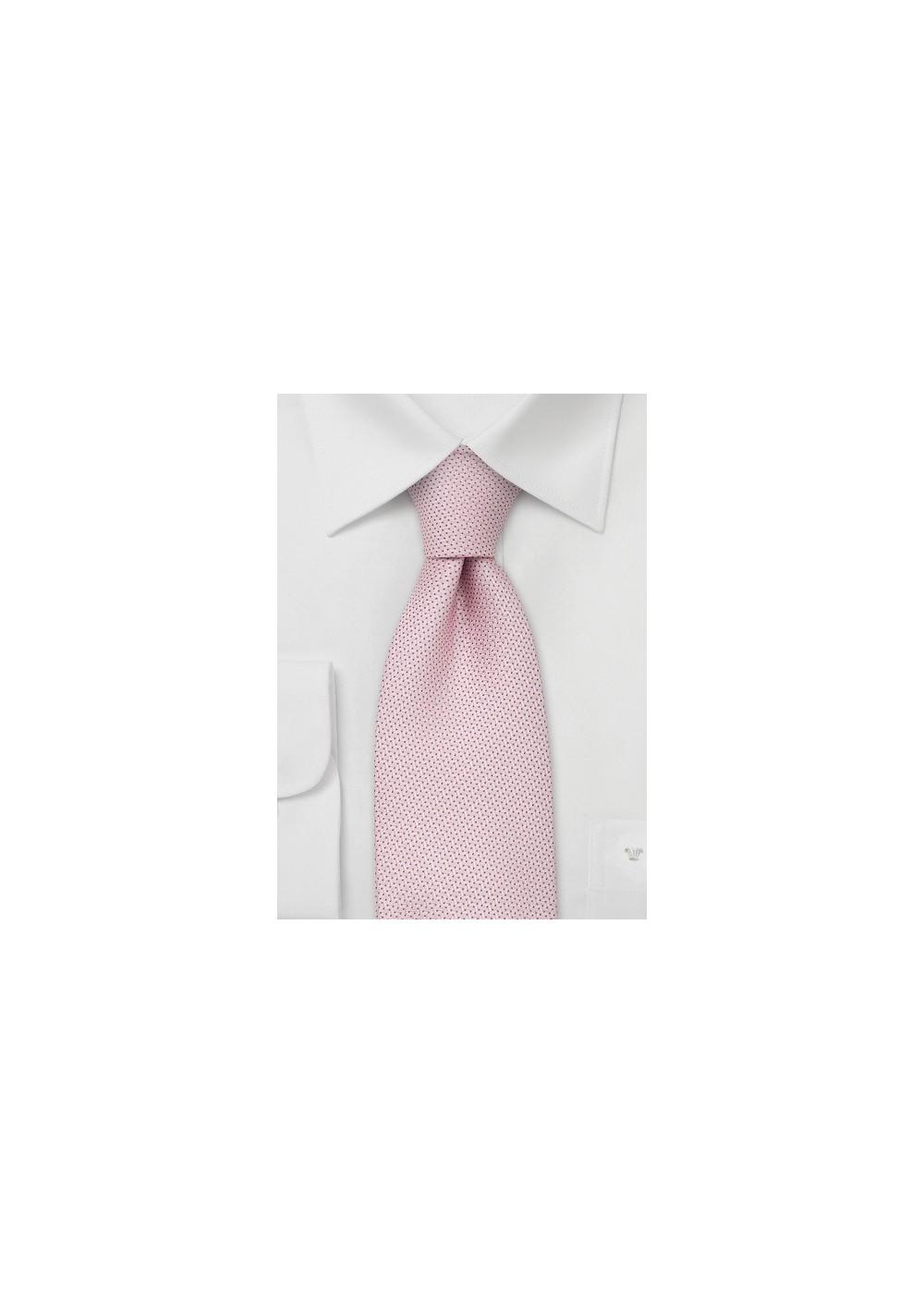 Rose Pink Kids Tie