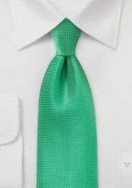 Textured Spring Green Necktie