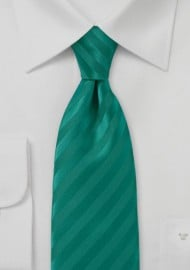 Solid Jade Narrow Tie