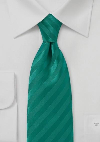 Solid Jade Narrow Tie