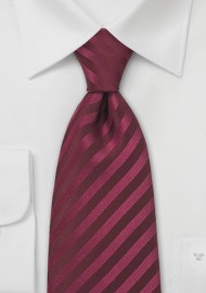 Kids Tie in Berry