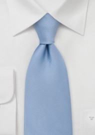 Textured Pool Blue Kids Tie