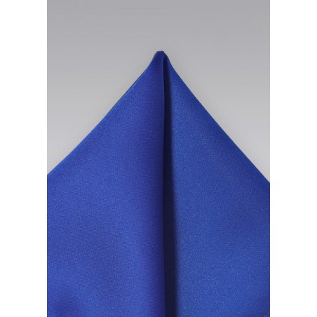 Solid Color Pocket Square in Horizon Blue