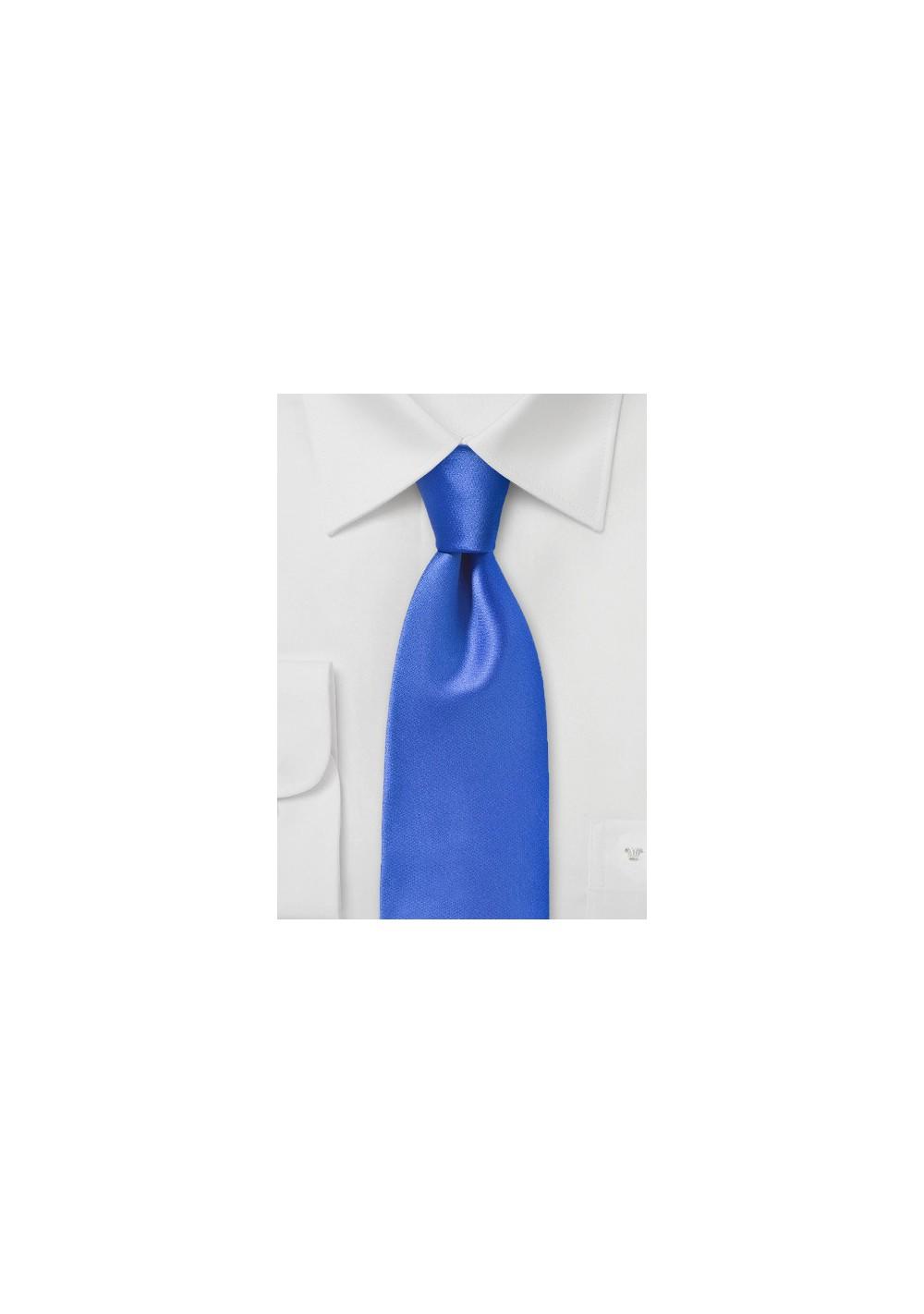 Bright Cobalt Blue Necktie