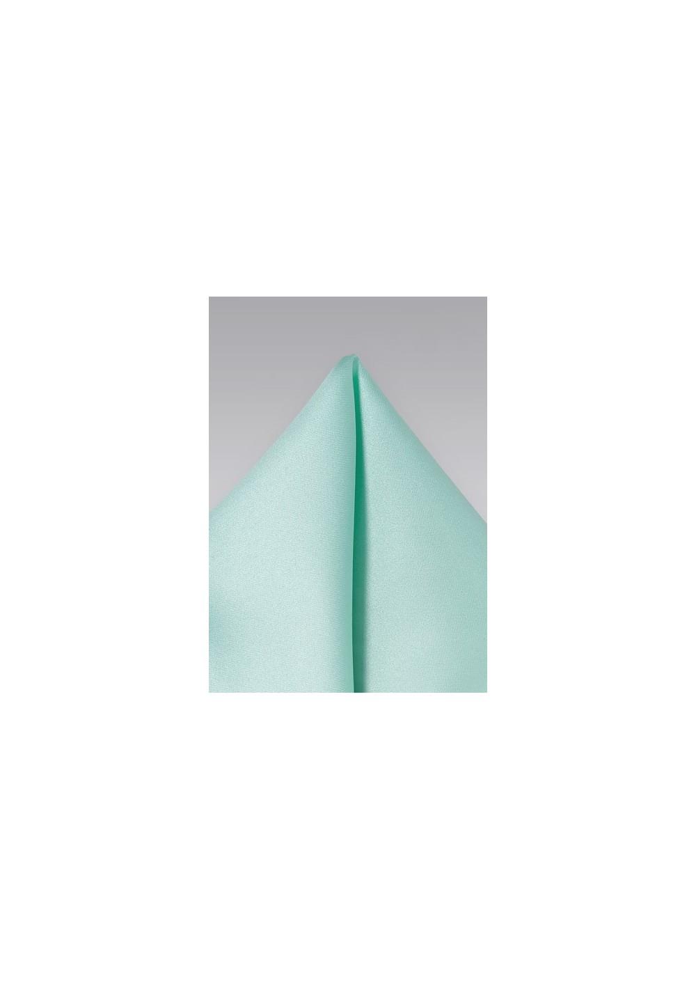 Glacier Blue Pocket Square