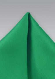 Emerald Green Pocket Square