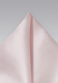 Ultra Light Pink Pocket Square