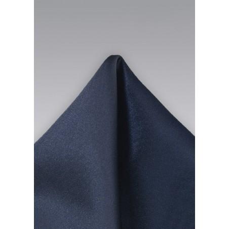 Midnight Blue Men's Pocket Square