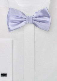 Soft Lavender Color Bow Tie
