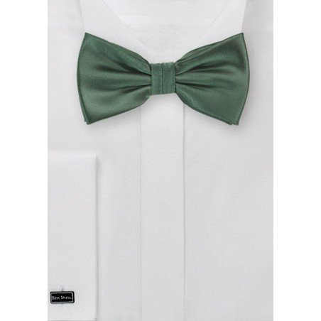 Pine Green Bow Tie