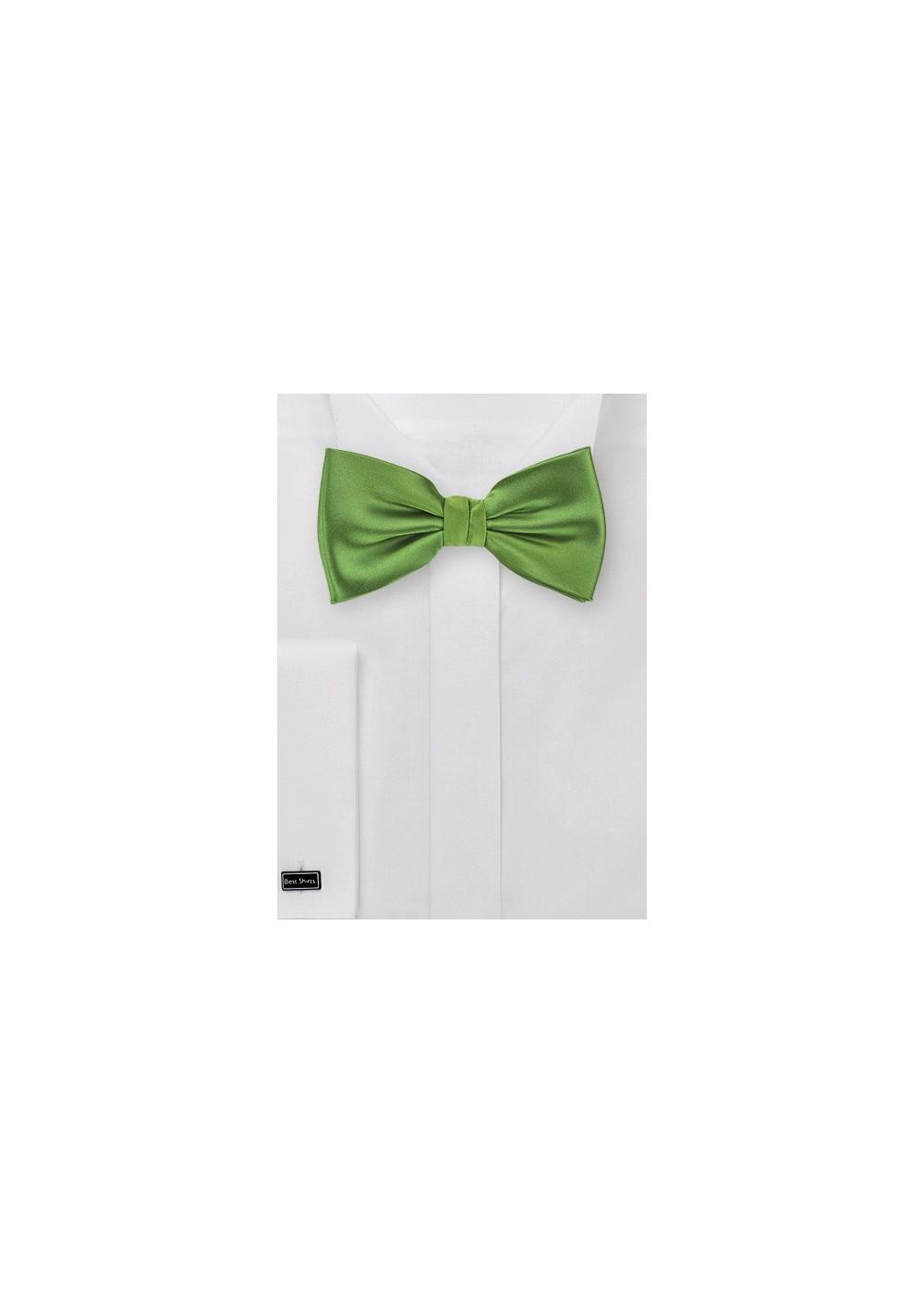 Fern Green Bow Tie