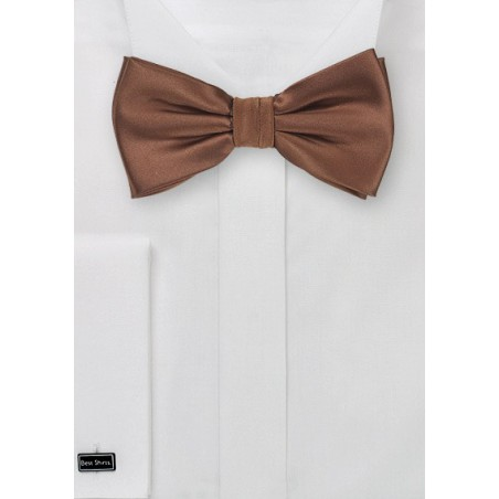Mocha Brown Bow Tie
