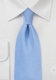 Hydrangea Blue Tie Kids Silk Tie