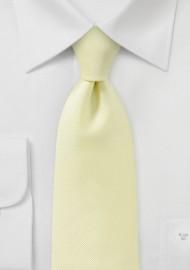 Citrine Yellow Kids Necktie