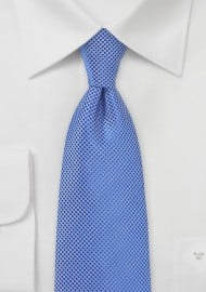 Cobalt Blue Textured Kids Tie