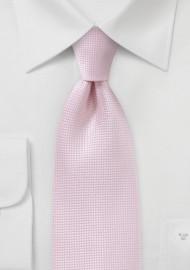 XL Length Tie in Tea Rose