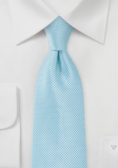 Spearmint Colored Tie in Long Length