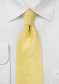 Herringbone Tie in Lemon