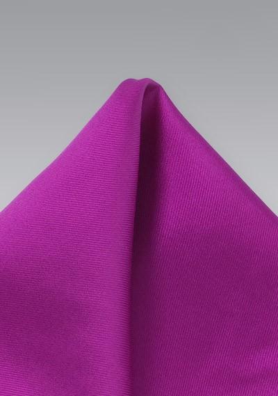 Silk Pocket Square in Dark Fuchsia
